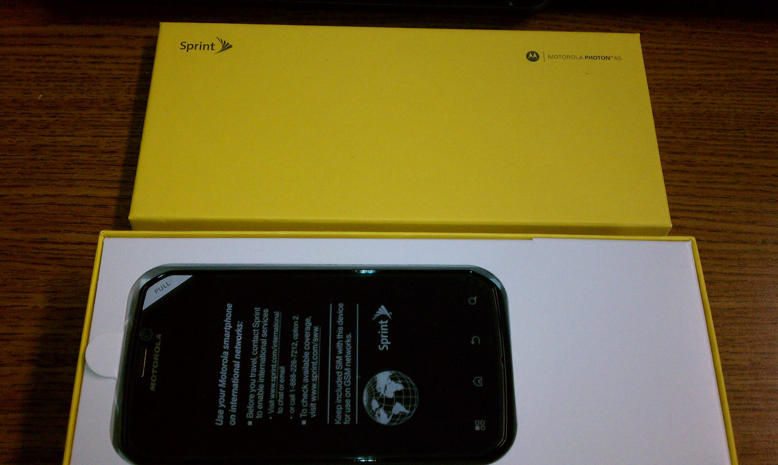 Cached Motorola photon 4g price