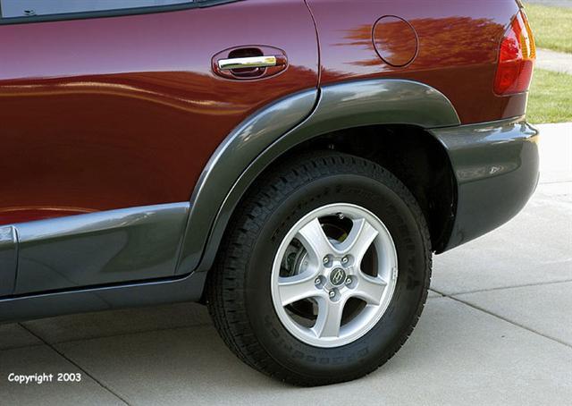 Hyundai Santa Fe Fender Flares Installation
