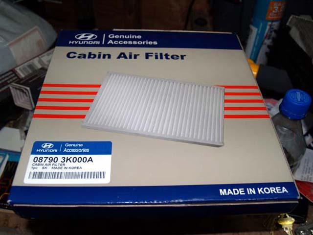 Hyundai Santa Fe Cabin Air Filter Us Installation